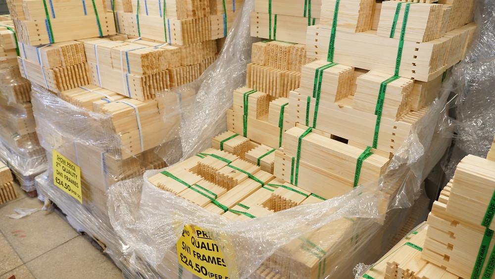 Maisemore Brood Frames in bulk packs of 50