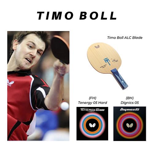 Timo Boll's Combination