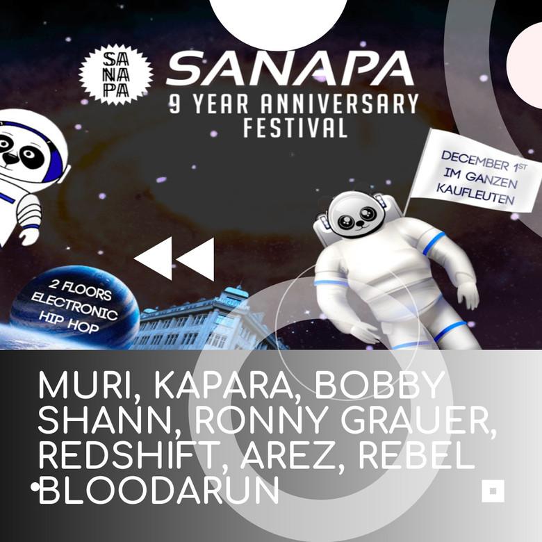 Sanapa - 9 Year Anninversary