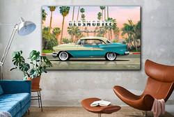Oldsmobile Holiday in LA website