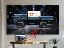 MAN Truck Wandbild