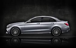 Mercedes c400 ohne Hintergrund klein