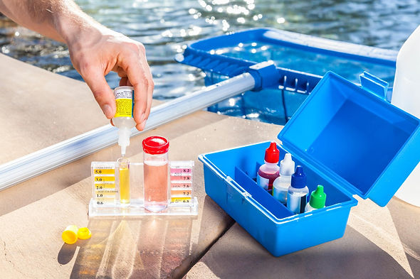 Swimming pool servicing and maintenance