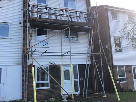 Rochester based scaffolding company