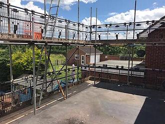 Scaffolding in Bexleyheath