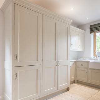 Tall shaker kitchen cabinets