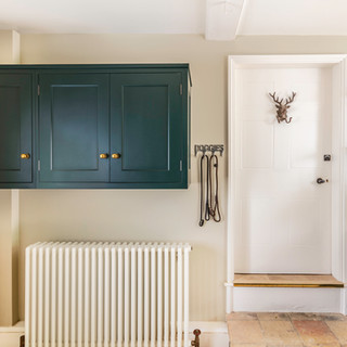 Green cabinetry