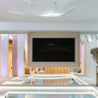 AV unit basement pool