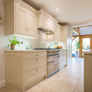 Modern Country Style Shaker Kitchen and