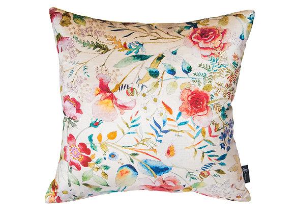 Seashell & Sunflower Velvet Cushion
