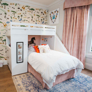 Childrens Bunk Bed with Storage in the S