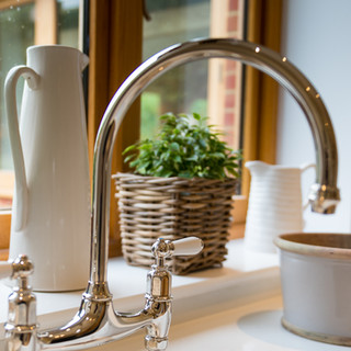 Kitchen tap brushed chrome