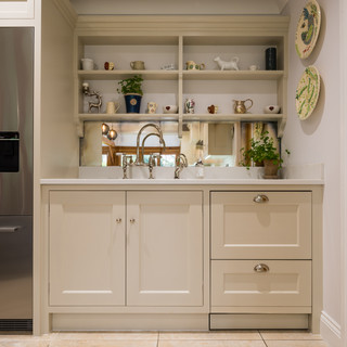 Shaker style kitchen with quooker tap