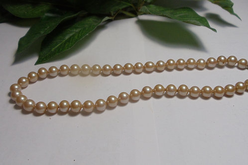 Necklace of Vintage Pearls in a Dream