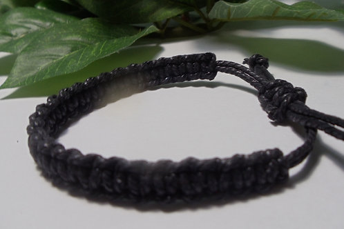 Mens Wrist Bracelet Knotted Macromae /Father's Day Gift