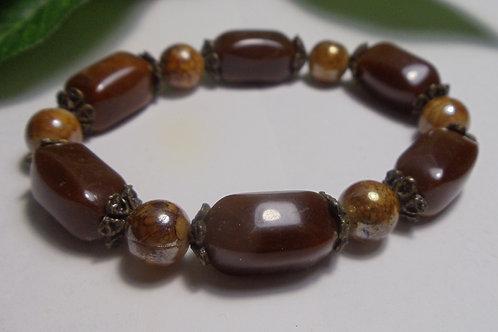 Vintage Jewelry Beautiful Brown Bracelet