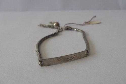 Bracelet Vintage Sterling Silver with Tassel