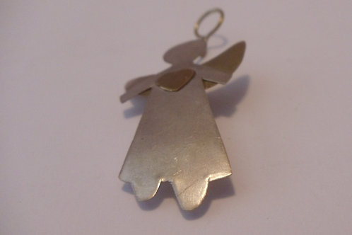 Vintage Pin of Angel with Heart