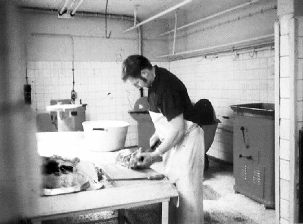 Burkard Dülfer Gründer der Fleischerei Dülfer