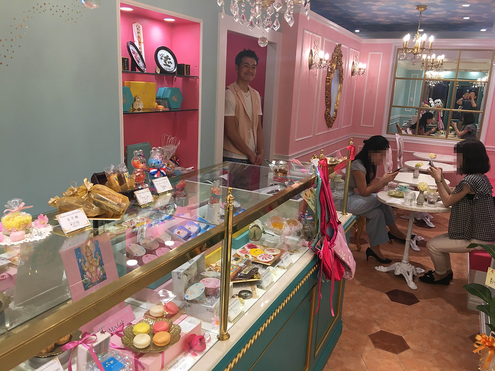 wonder sweets kiyonaga 店内