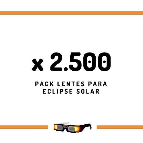 Super Oferta Pack de Lentes - 2500 unidades