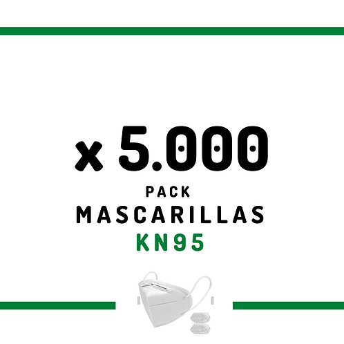 5.000 Mascarillas KN95