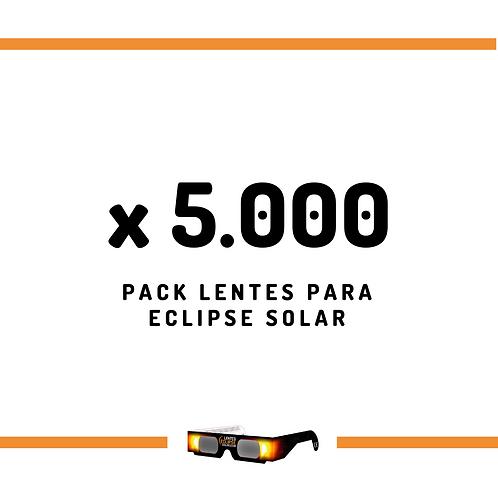Pack de Lentes - 5000 unidades