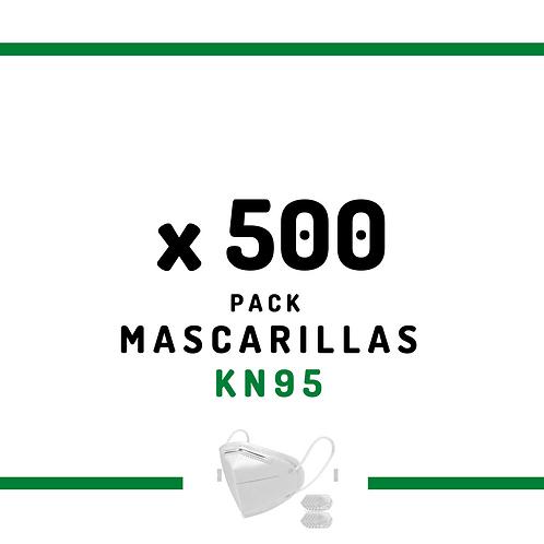 500 Mascarillas KN95