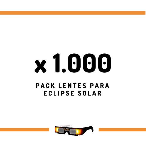 Pack de Lentes - 1000 unidades