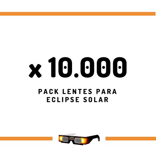 Pack de Lentes - 10000 unidades