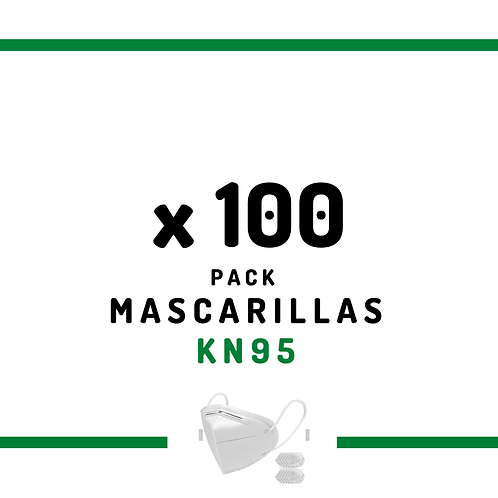 100 Mascarillas KN95