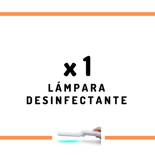 1 Lámpara Desinfectante UV purificador de aire