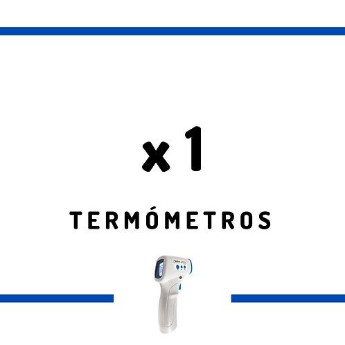 1 Termómetro Infrarrojo Sin Contacto