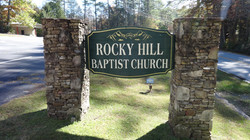 Main sign infront of Church