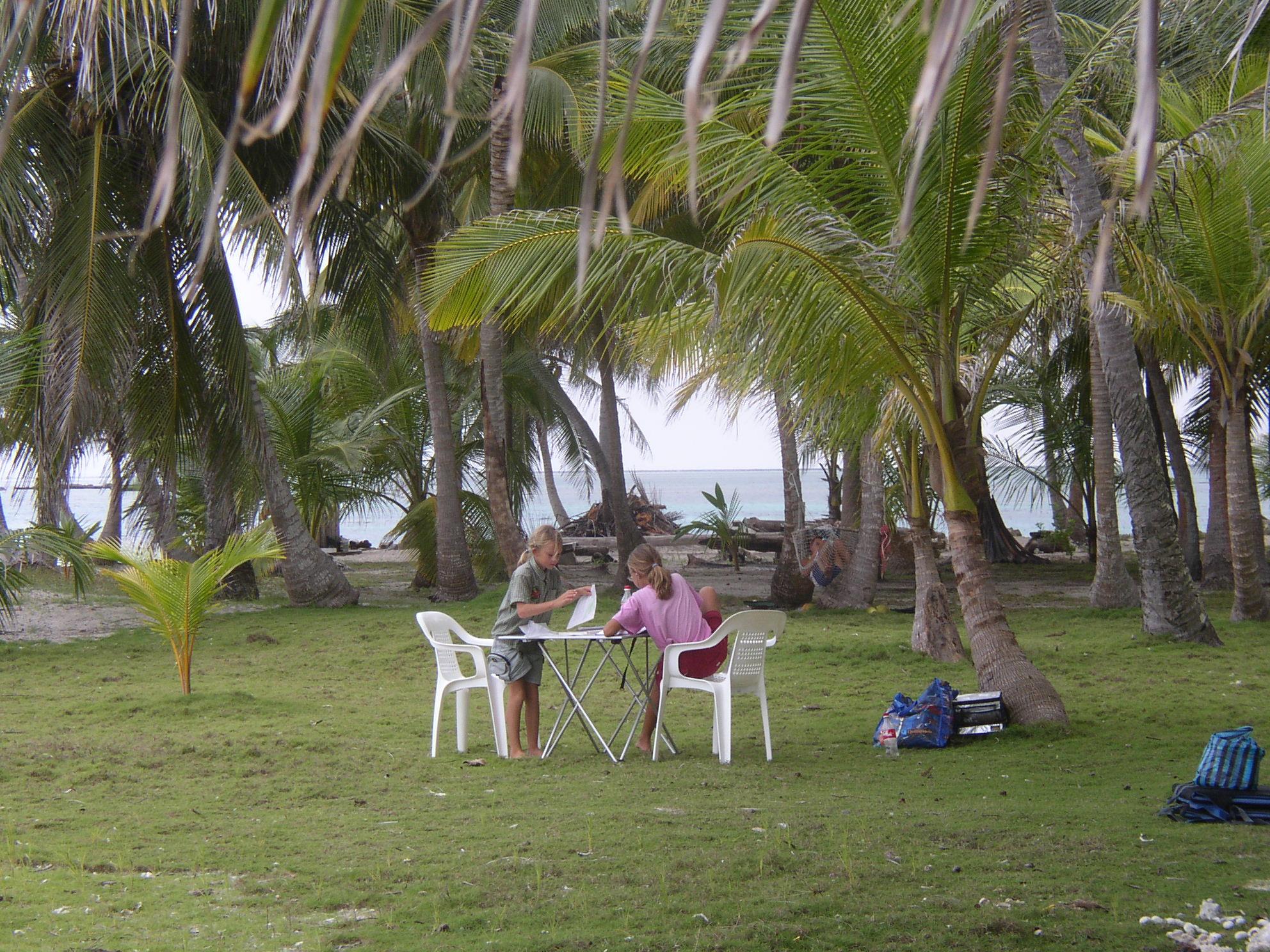 Open air classroom