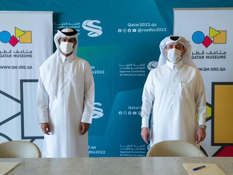 SC & QM sign Memorandum of Understanding to support delivery of Qatar 2022