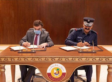 Ministry of Interior signs cooperation agreement with Weill Cornell Medicine-Qatar