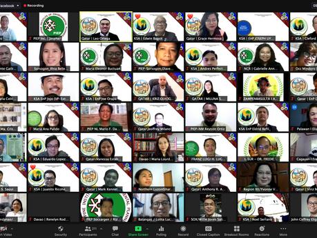 PIEP International Chapters host joint CPD webinar