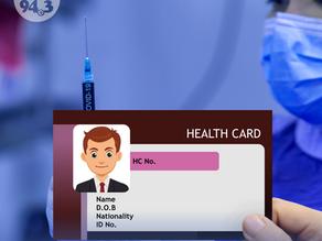 Health Card, di na kailangan para mabakunahan - MoPH