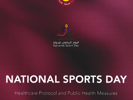 National Sports Day Healthcare Protocol & Public Health Measures