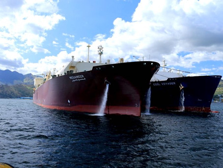 Qatargas transfers LNG to Subic Bay for the first time