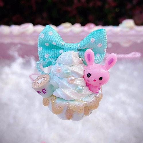 Dreamy Cupcake Bunny Necklace