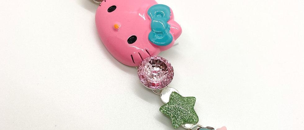 Pink Kitty Bracelet