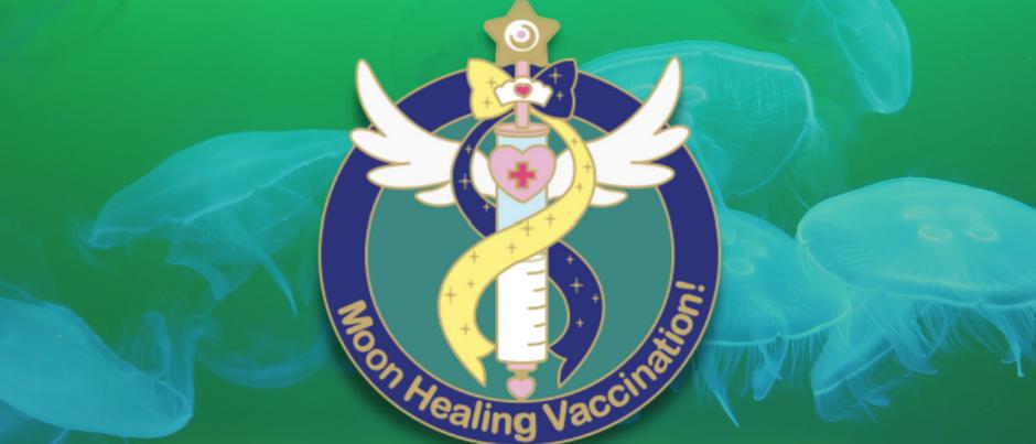Sailor Uranus & Neptune Vax Pin