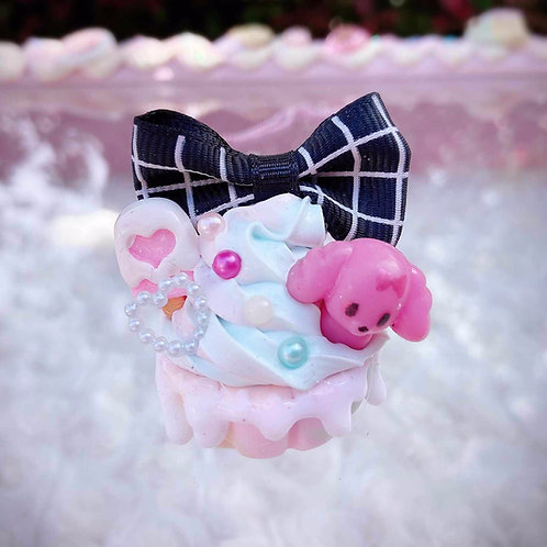 Dreamy Cupcake Pups & Pigs Necklaces