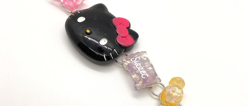 Black Kitty Braclet