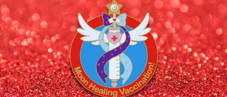 Sailor Mercury & Mars Vax Pin
