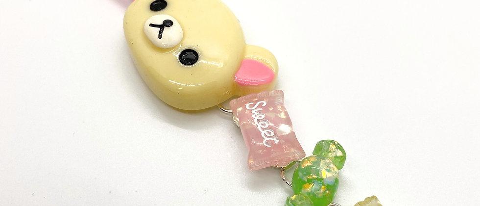 Cream Bear Bracelet