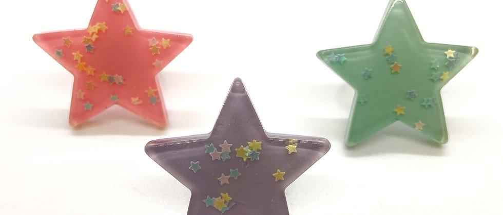 Pastels Stars Rings