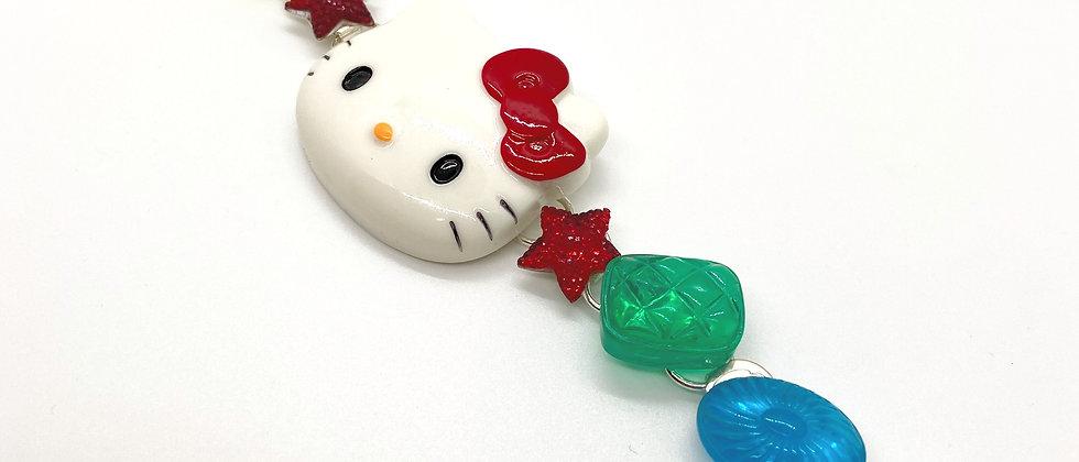 HK White Kitty Bracelet